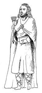 Statue of St Disen